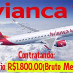 ASSISTENTE ADMINISTRATIVO AVIANCA (R$ 1.800) SEM EXPERIÊNCIA