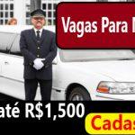 Vagas para Motorista: Salário R$1,500,00. Envie já seu curriculum!