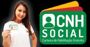 CNH SOCIAL -2016 CADASTRAMENTO para tirar Carteira de Habilitação Grátis