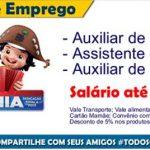 Vagas de Emprego Casas Bahia para Auxiliar de Estoque, Assistente de Loja, Auxiliar de Crédito