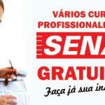 SENAI abrem vagas para novos cursos profissionalizantes gratuitos