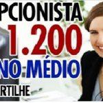 VAGA PARA RECEPCIONISTA ENSINO MÉDIO – URGENTE!