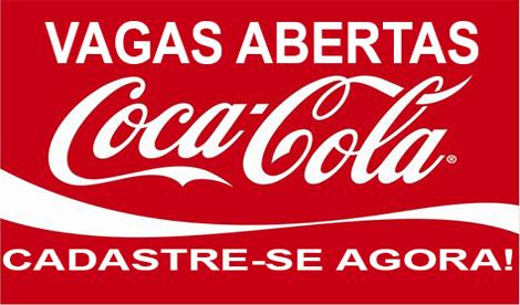 VAGAS DE EMPREGO NA COCA COLA – CADASTRE SEU CURRÍCULO