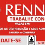 Mais de 120 vagas para trabalhar na RENNER – Candidate-se