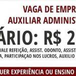 Kaizen abre vaga para Auxiliar Administrativo com ótimo salário: R$ 2.300 2016/2017
