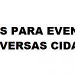 Vagas  para Eventos em Todo Brasil
