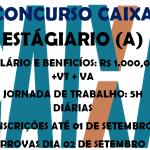 CAIXA ECONÔMICA ESTA REALIZANDO SELETIVA PARA ESTAGIÁRIOS POR MEIO DE CONCURSO SALÁRIOS ATÉ R$1.000,00 +BENEFÍCIOS, VEJA QUEM PODE PARTICIPAR