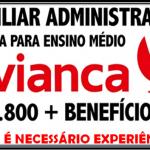 AVIANCA SELECIONA AUXILIAR ADMINISTRATIVO – SALÁRIO R$ 1.800,00 + BENEFÍCIOS – VEJA OS REQUISITOS