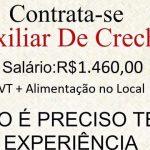 AUXILIAR DE CRECHE – PREFEITURA ABRE 6 VAGAS PARA SELEÇÃO – SALÁRIO ATÉ R$ 1.478,00