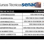 SENAC EAD – Estão abertas as inscrições para os Cursos Técnicos Presencial!