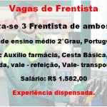 Vagas de Frentista disponiveis Salário R$ 1.582,00 – Não necessita de experiência .