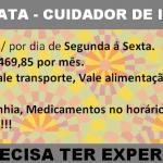 PRECISO URGENTE DE CUIDADOR(A) DE IDOSO